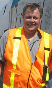 Terry Brennan, Via Rail locomotive engineer